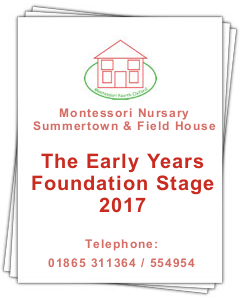 PDF document: The Early Years Foundation Stage 2017